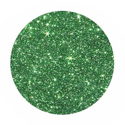 Glitterstaub Light green. Fein, ca. 2gr.