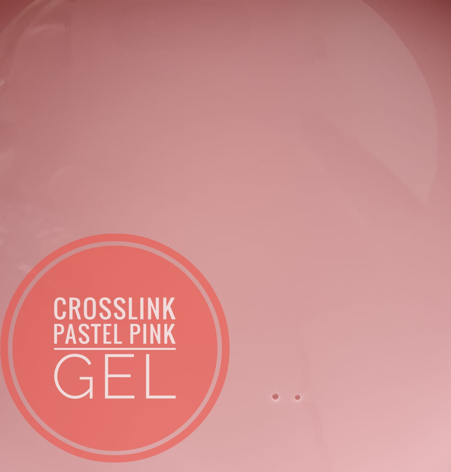 Crosslink Gel Pastel Pink 15 ml.