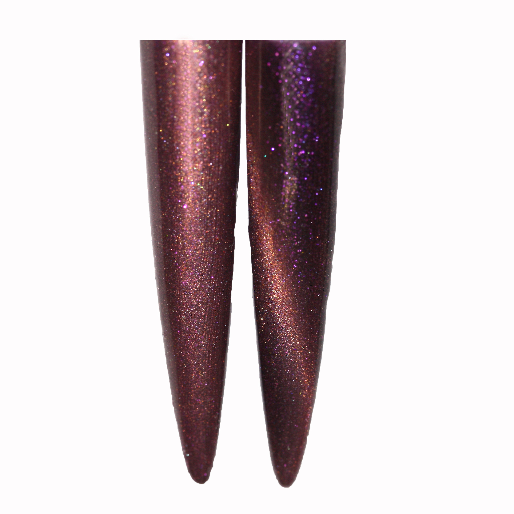 UV Gellack Cat Eye Chameleon Plum 15 ml.